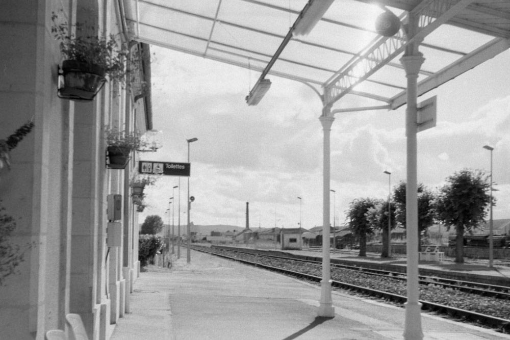Gare de Bretenoux-Biars (Lot), 2013.