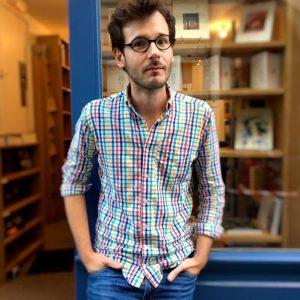 Portrait d'Antonin Crenn par Laurent Pascuito.