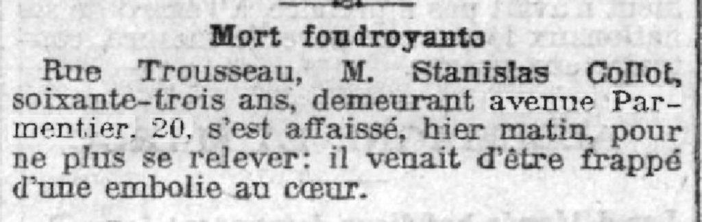 Le Journal, 13 mai 1908